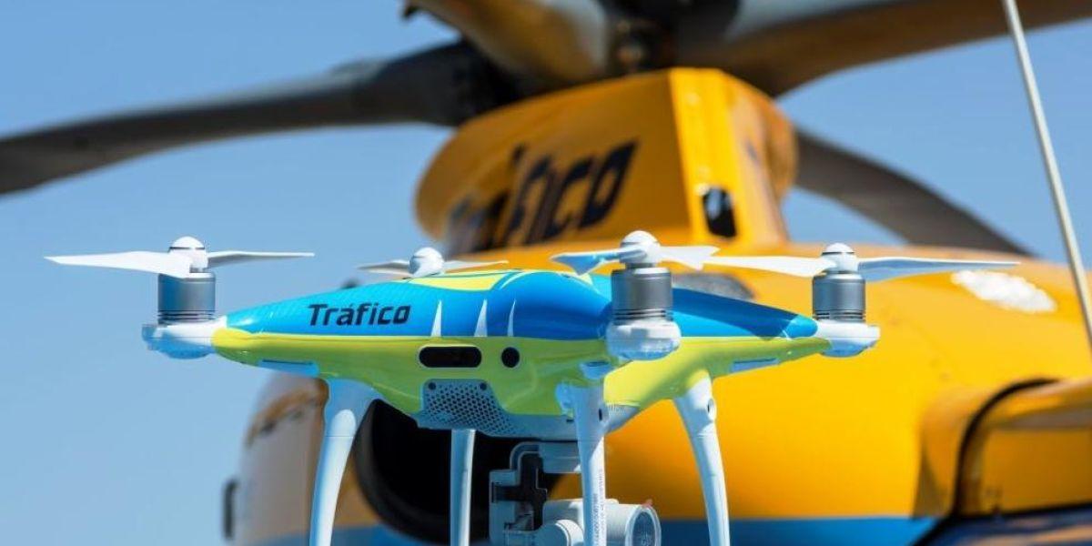 La DGT ha puesto en funcionamiento drones