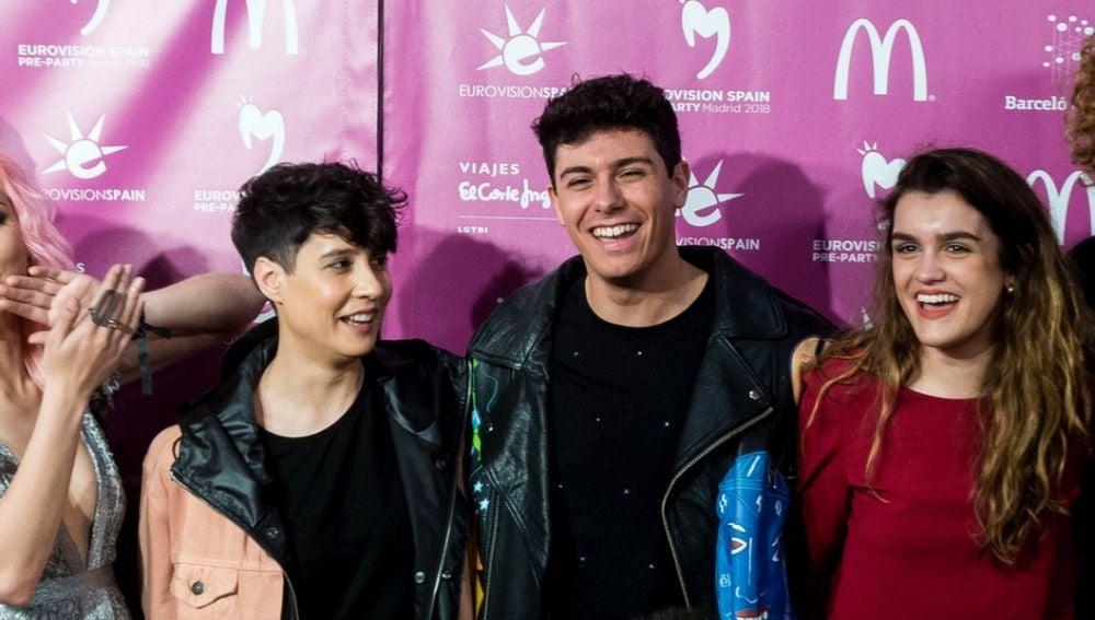 Representantes de Eurovisión en Madrid