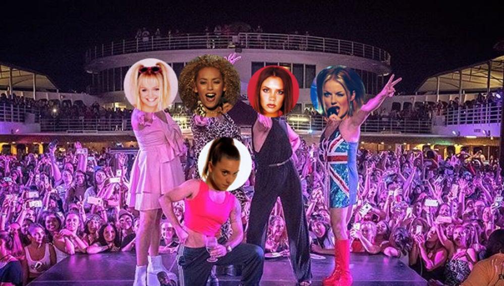 Los Backstreet Boys se disfrazan de las Spice Girls