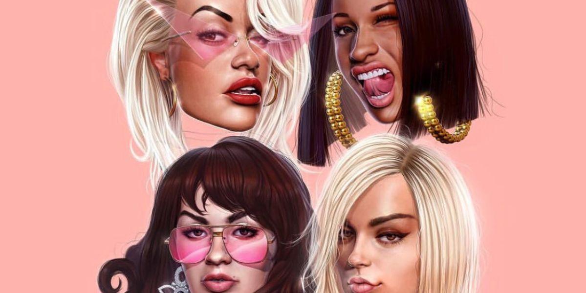 Rita Ora, Cardi B, Bebe Rexha y Charli XCX presentan 'Girls'
