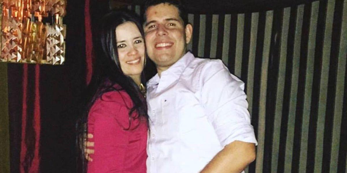 Luana Alves, de 36 años, y su novio Rodrigo Nogueira, de 31