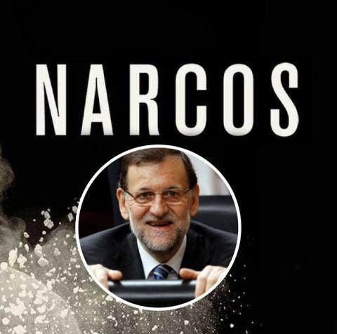 Rajoy en Narcos