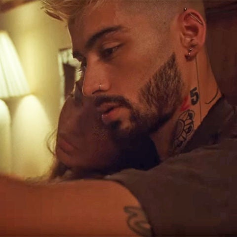 Zayn en el videoclip de 'Entertainment'