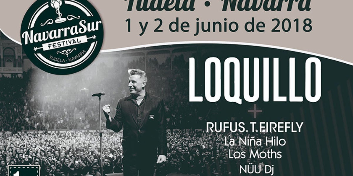 Cartel del Navarra Sur Festival 2018