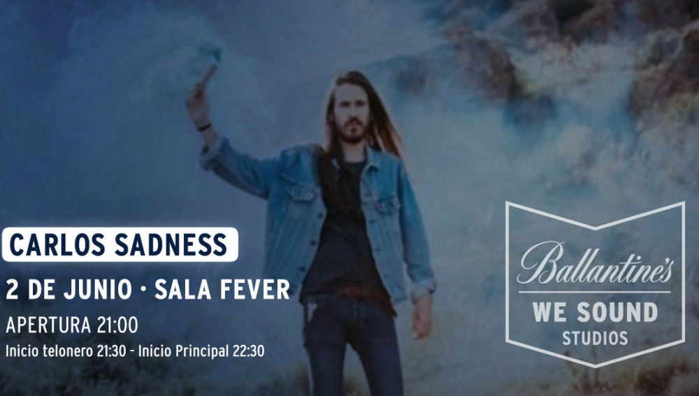 Carlos Sadness en la Sala Fever de Bilbao