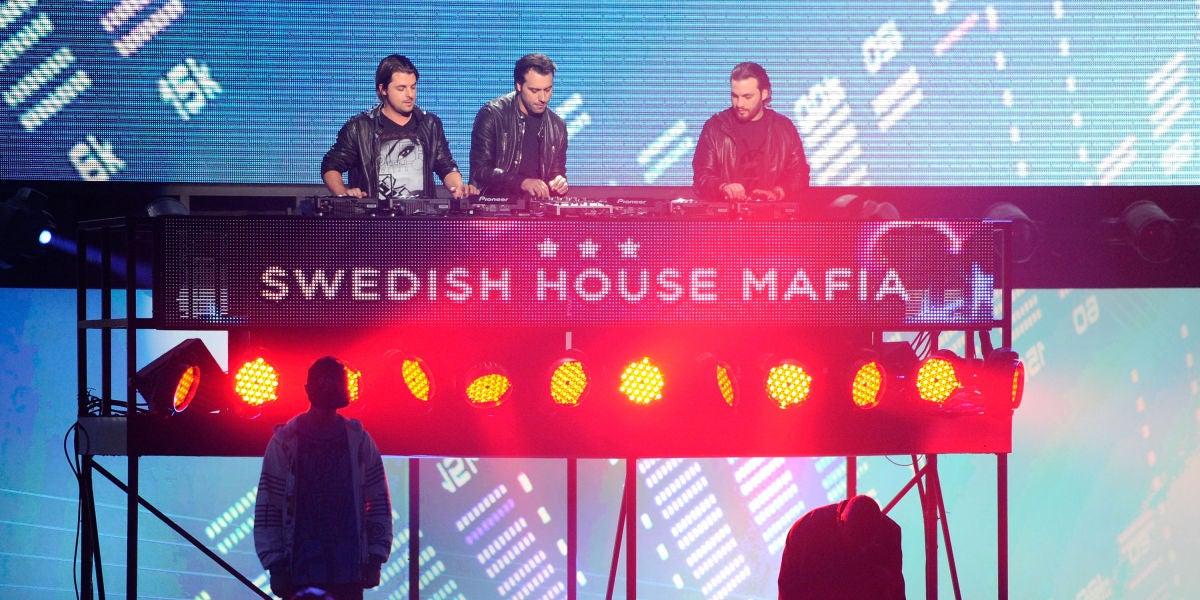 El trío Swedish House Mafia