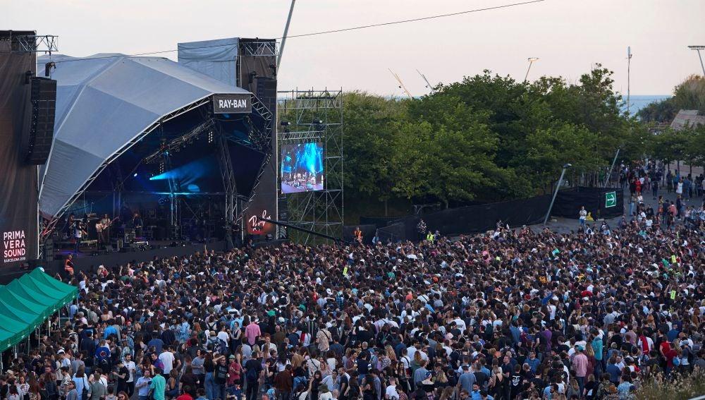 Numeroso público en la cuarta jornada del festival de música Primavera Sound