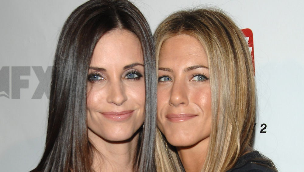 Jennifer Aniston y Courtney Cox