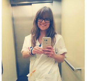 Sara Rodriguez, la enfermera que ha compartido el texto de una compañera de profesión