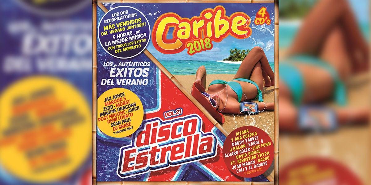 Ya a la venta Caribe 2018 y Disco Estrella Vol. 21