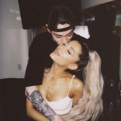 Ariana Grande y Pete Davidson