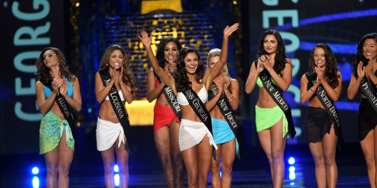 Desfile en bañador de Miss América 2017