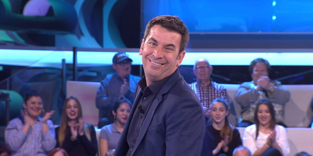 Arturo Valls se derrite con la despedida de una oponente en '¡Ahora Caigo!'