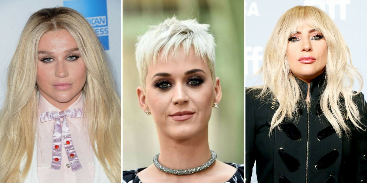 Kesha, Katy Perry, Lady Gaga