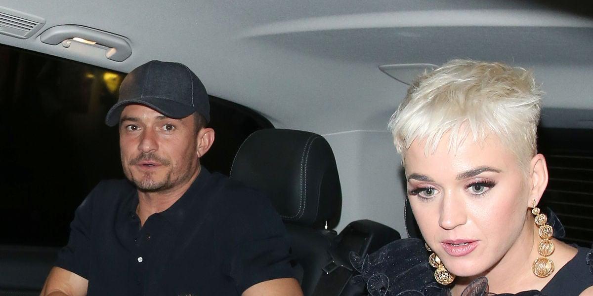 La cita de Katy Perry y Orlando Bloom con su perro
