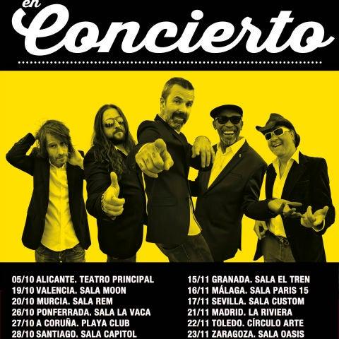 Jarabe de Palo anuncia nueva gira para el otoño de 2018