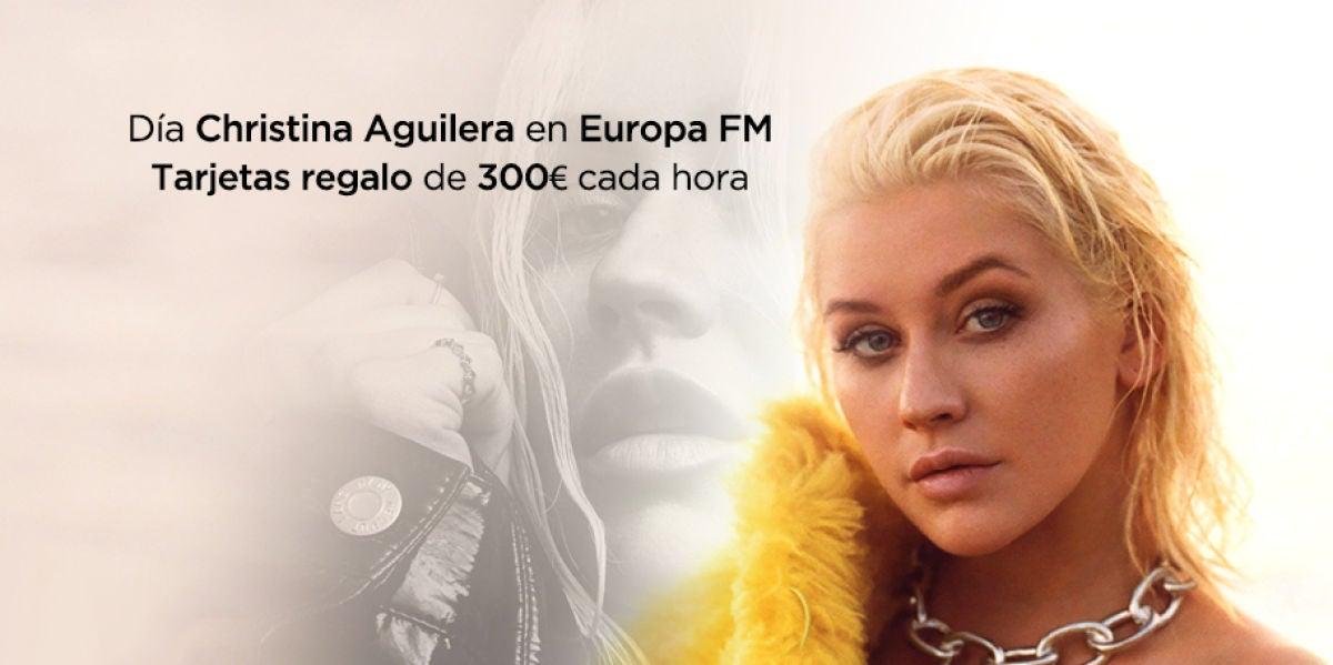 Día Christina Aguilera en Europa FM