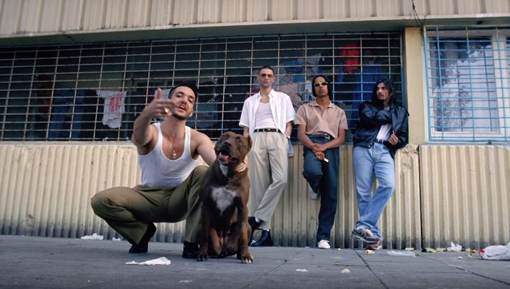 C. Tangana en el videoclip de 'Bien Duro'