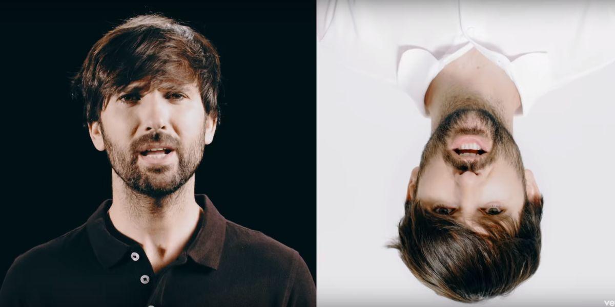 David Otero en el videoclip de 'Gira'