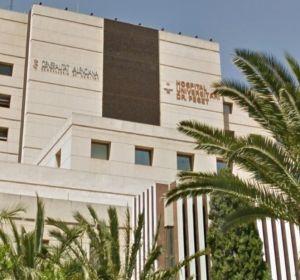 El Hospital Doctor Peset de València.