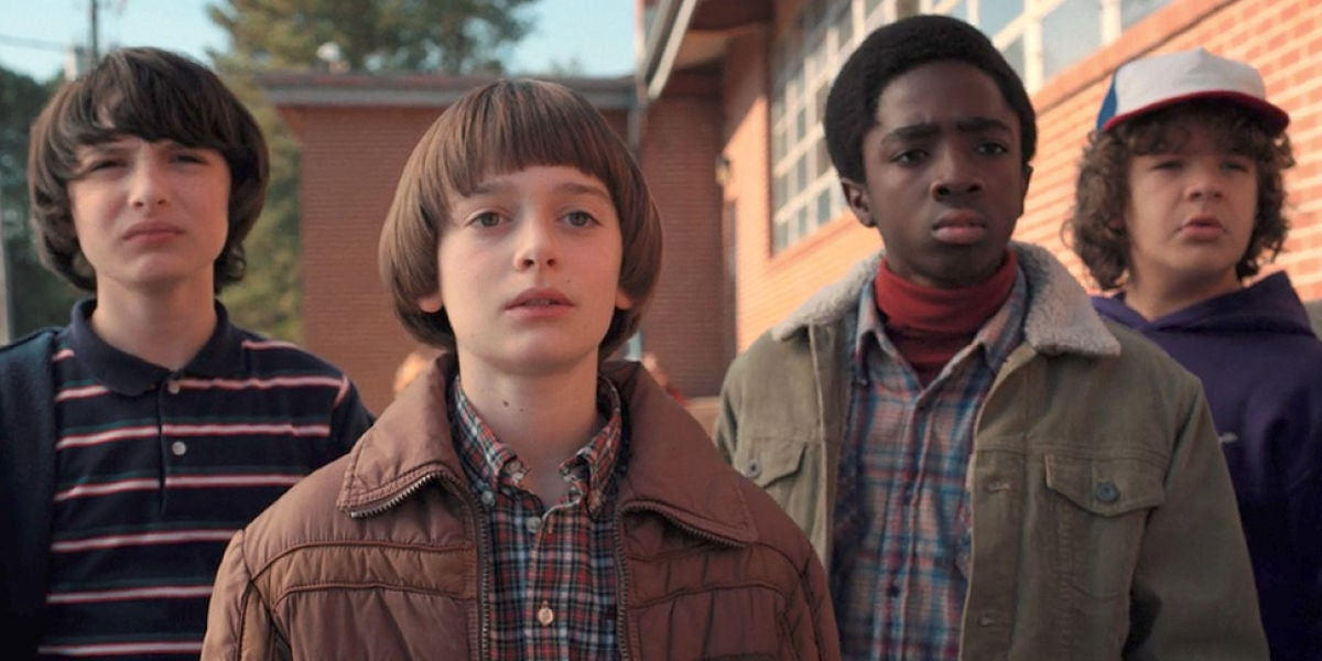 Protagonsitas de 'Stranger Things'
