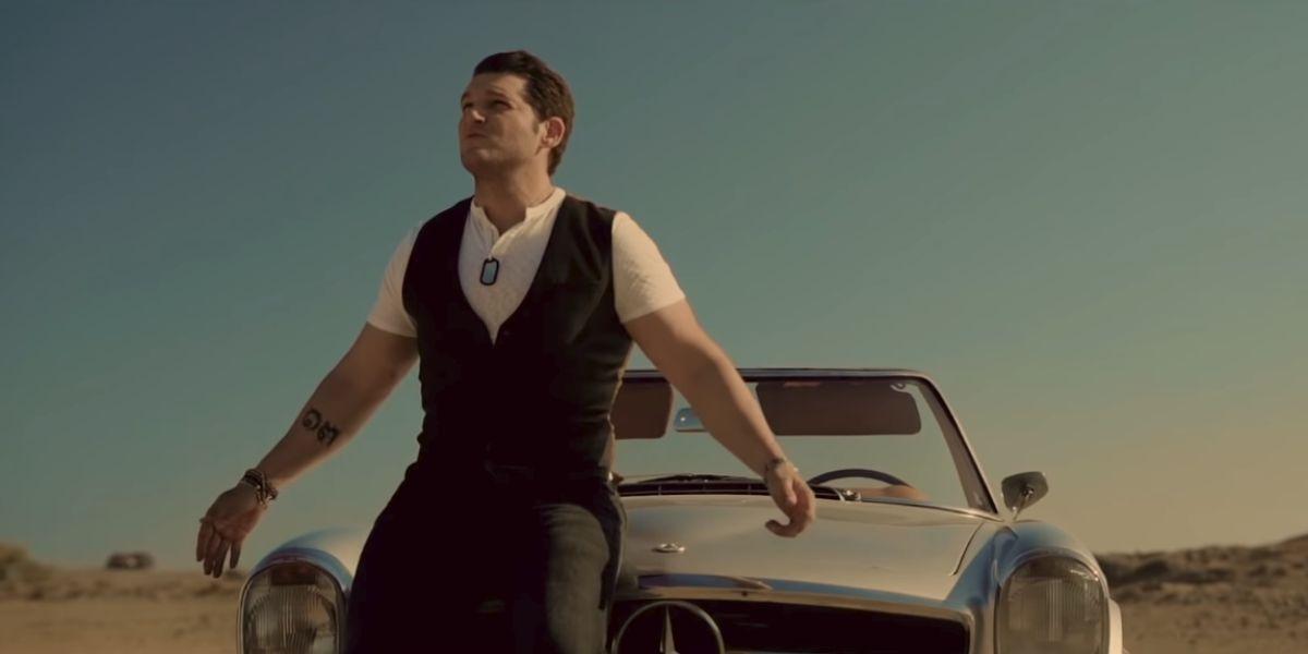 Manu Tenorio en el vídeo de 'Quiero'