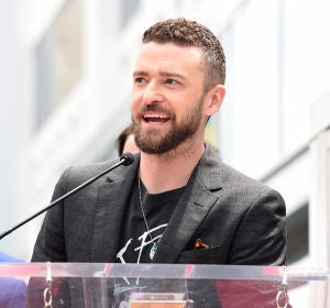 El actor y cantante Justin Timberlake