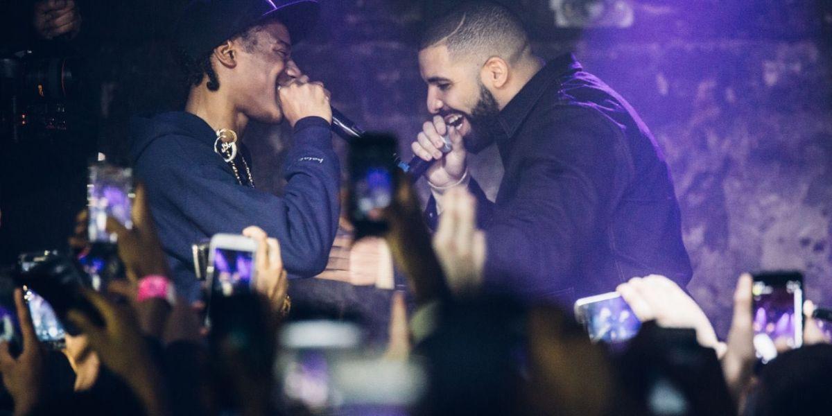 El rapero Smoke Dawg con Drake