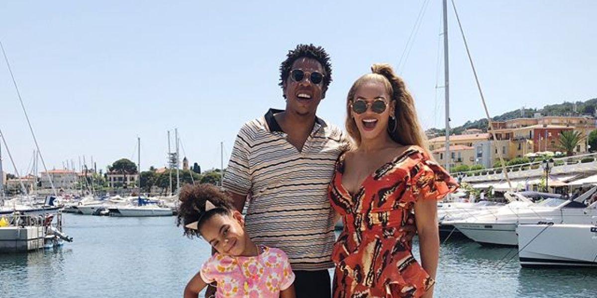 Beyoncé, Jay Z y Blue Ivy en la Costa Brava