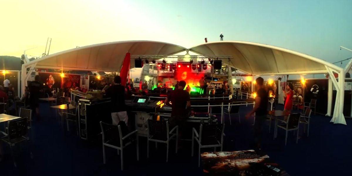 Fiesta a bordo con Baleària Fun & Music