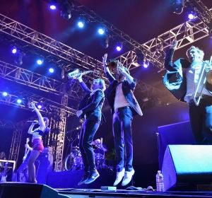 Parov Stelar en su concierto en Coachella