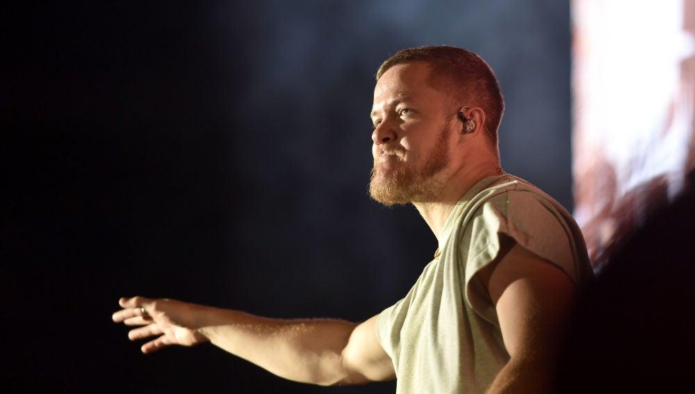 Dan Reynolds durante un concierto de Imagine Dragons