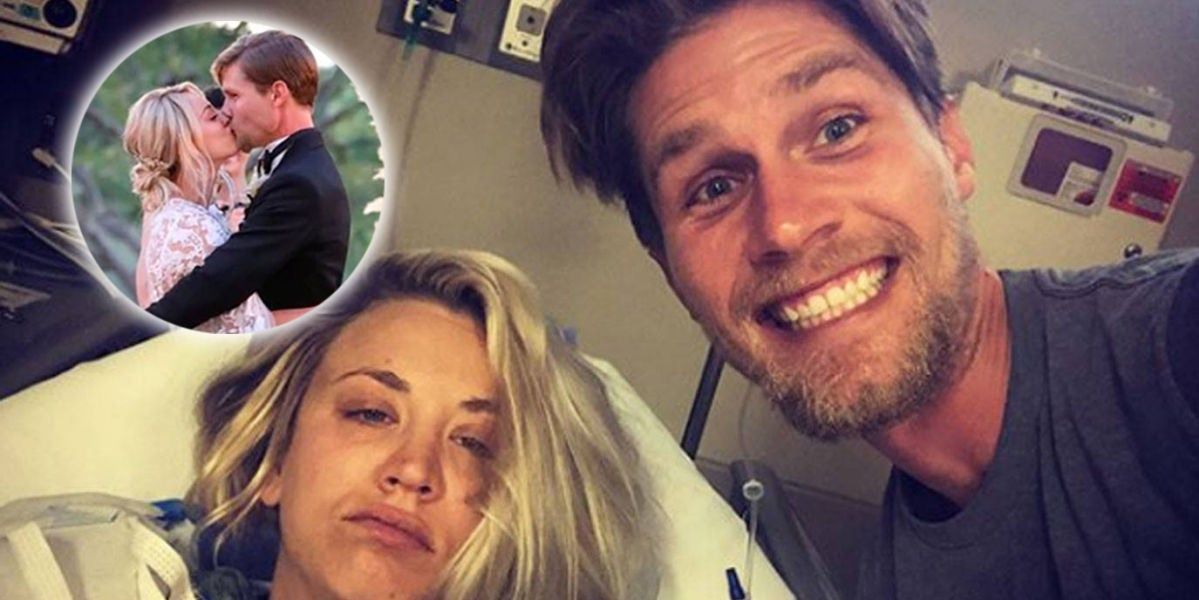 La luna de miel en el hospital de Kaley Cuoco y Karl Cook
