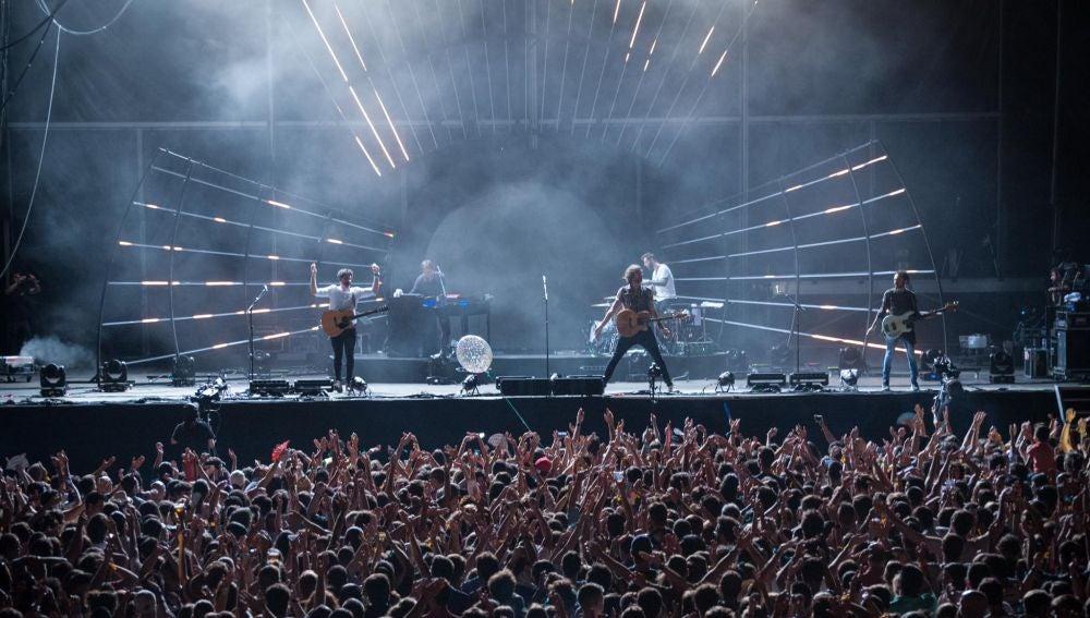 IZAL en su concierto en el Cruïlla Barcelona
