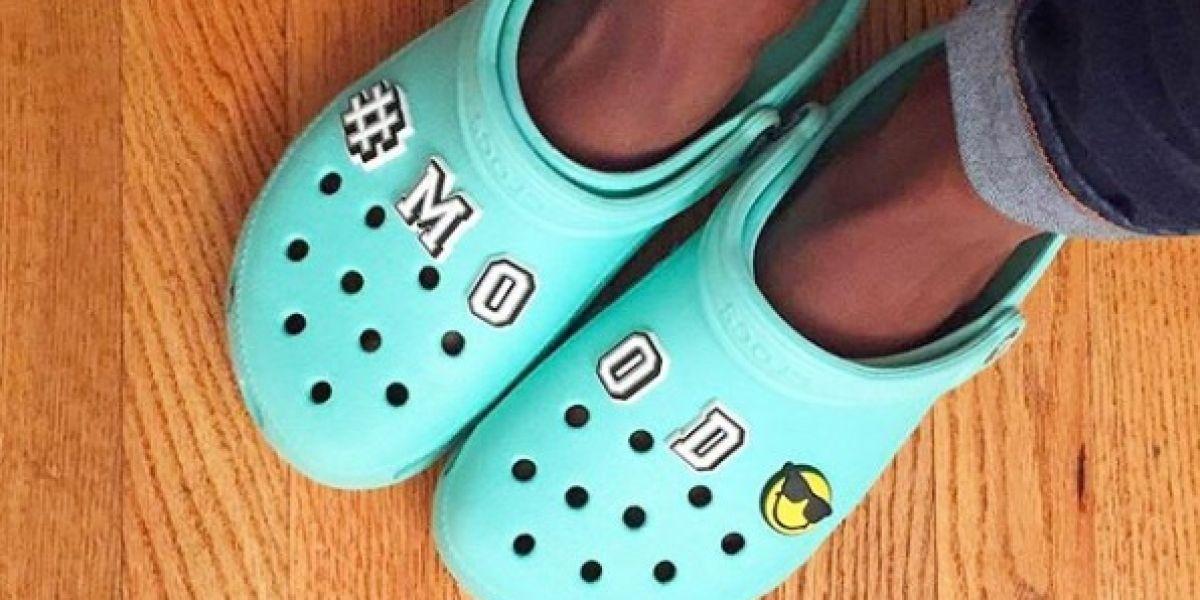 Crocs Sus Línea Alto¡y Goma Con Lanza Una Sandalias De Tacón shrQtd
