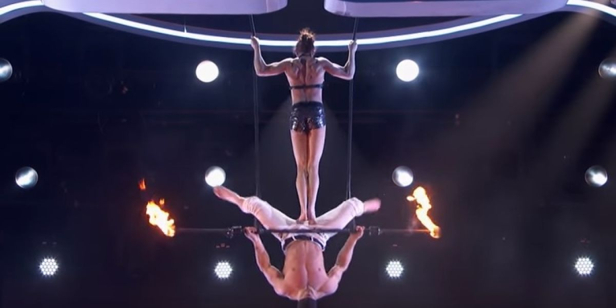 ¡De chiripa! Accidente en America's Got Talent casi termina en tragedia
