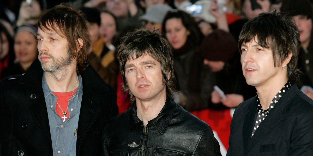 Oasis en los Brit Awards 2007
