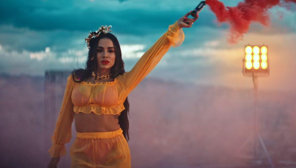 Anitta en el videoclip de 'Medicina'