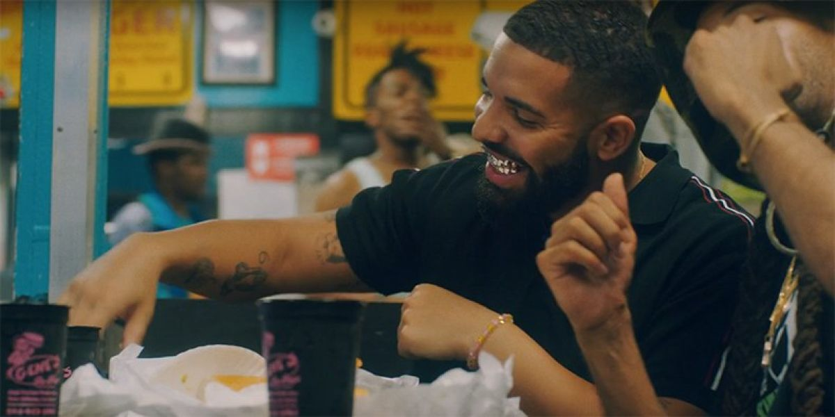 Drake en el vídeo de 'In My Feelings'