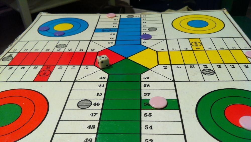 El juego del parchís