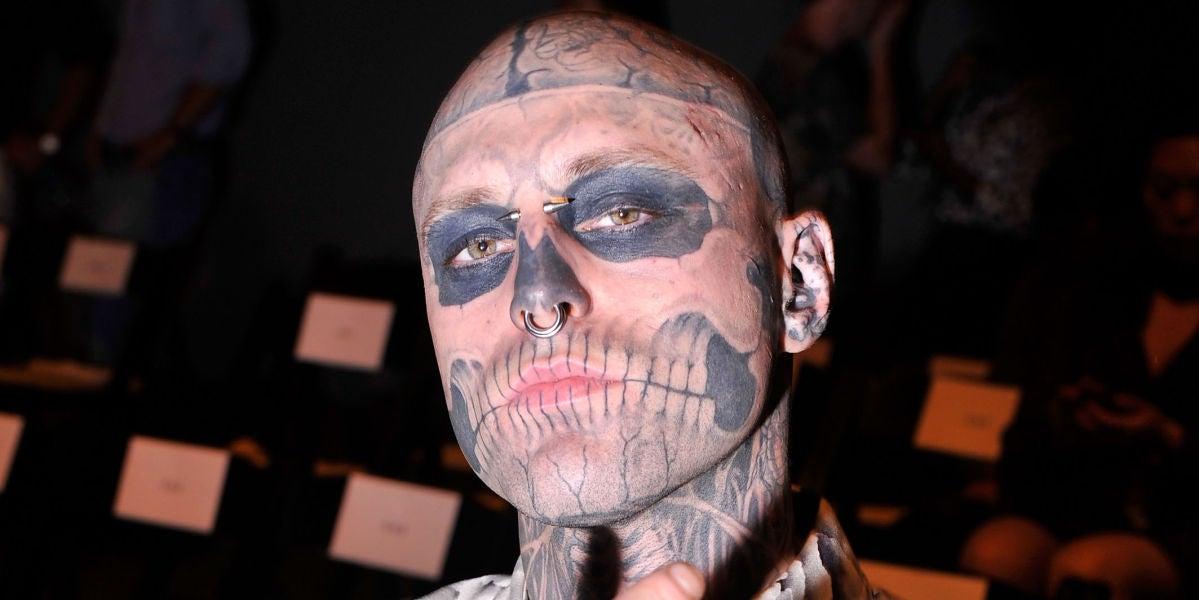 Encuentran muerto a Zombie Boy, el controvertido modelo tatuado