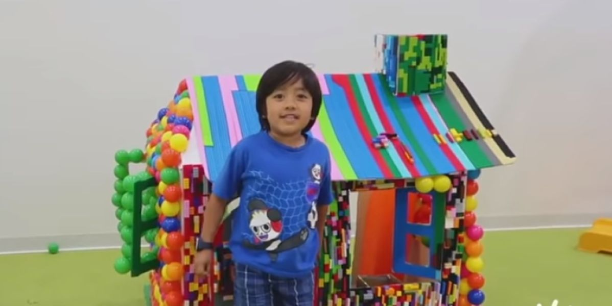 Ryan en su canal de Youtube