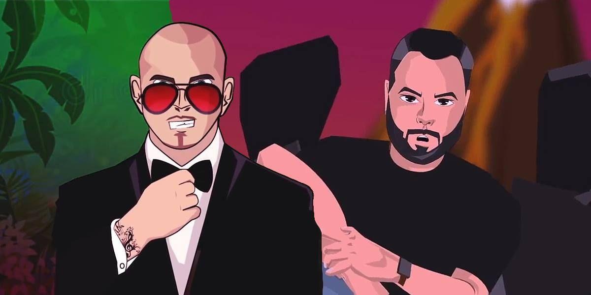 Pitbull y Juán Magan