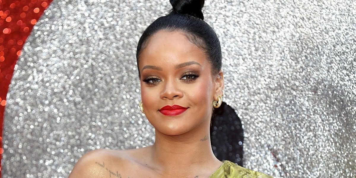 Rihanna en la presentación de 'Ocean's 8' en Londres