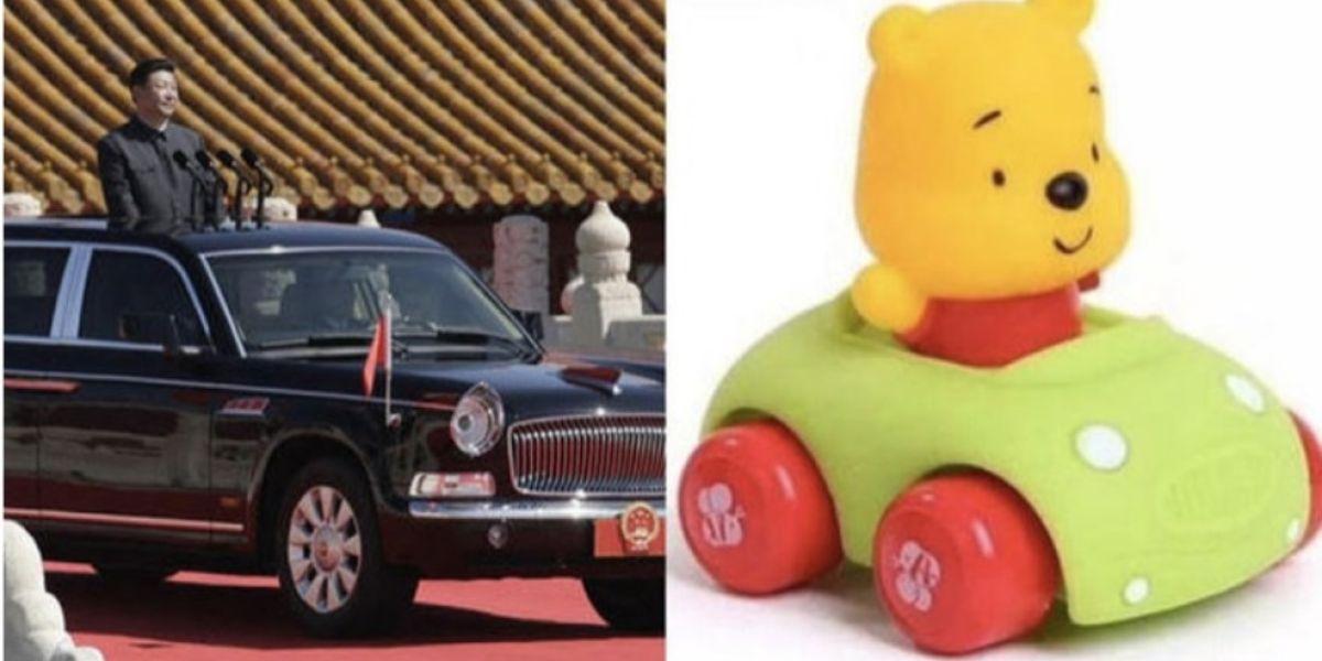 Winnie the Pooh comparado con el presidente de China