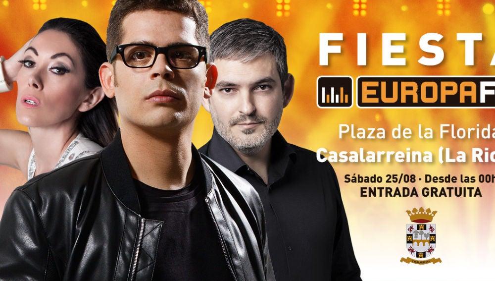Fiesta Europa FM en La Rioja