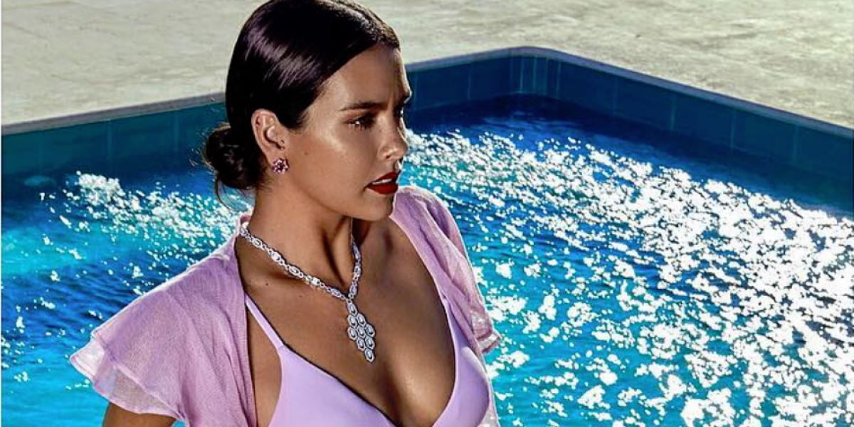 Cristina Pedroche en su posado en bikini