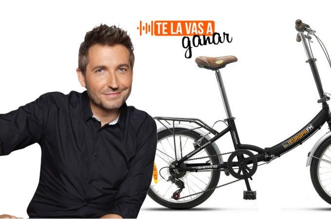 Gana la bici urbana de Europa FM en Te La Vas A Ganar