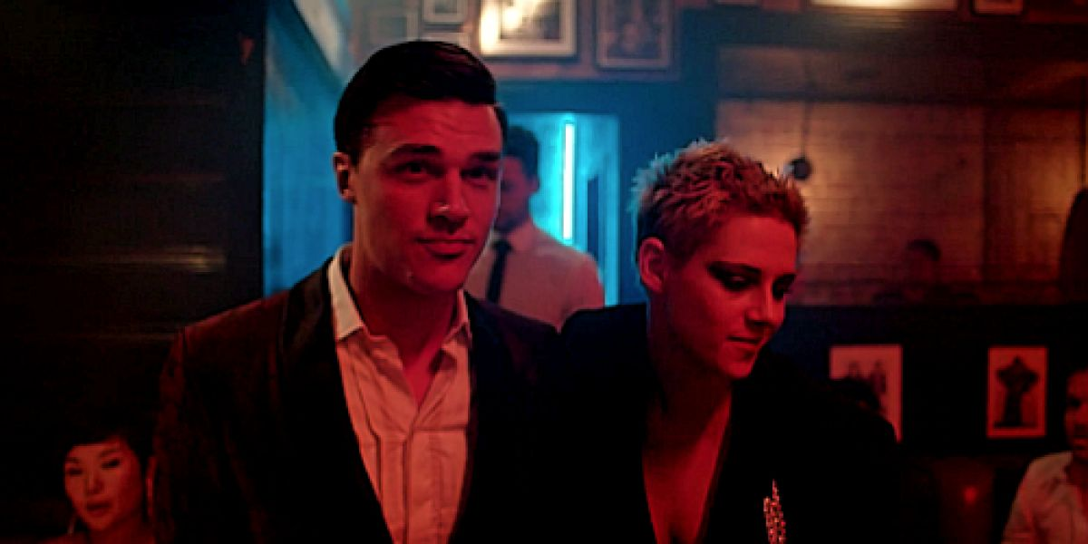 Finn Wittrock y Kristen Stewart en 'If You Really Loving Nothing' de Interpol