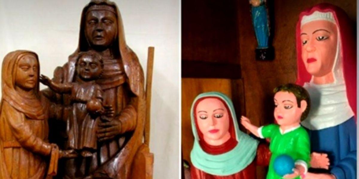 El Ecce Homo asturiano que ha destrozado tres tallas del siglo XV